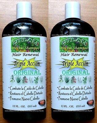 Action Aloe (2x CITLALI Original Triple Action HERBAL Shampoo Nettle Aloe Rosemary 12 oz)