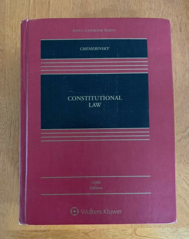 Constitutional Law 5th Edition