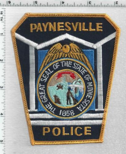 Paynesville Police (Minnesota) 2nd Issue Shoulder Patch