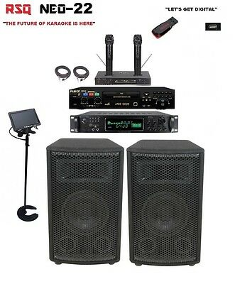 Complete Professional Karaoke - Complete Professional Karaoke System RSQ Neo 22 Player Digital Machine equipment