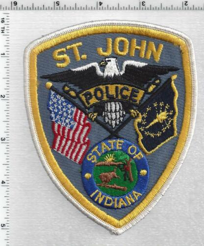 St. John Police (Indiana) 1st Issue Shoulder Patch