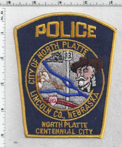 North Platte Police (Nebraska) 2nd Issue Shoulder Patch