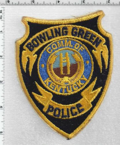 Bowling Green Police (Kentucky) 1st Issue Shoulder Patch