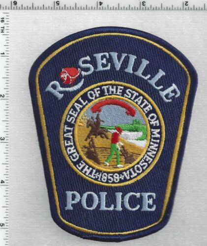 Roseville Police (Minnesota) 3rd Issue Shoulder Patch