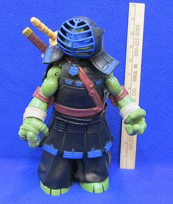 Teenage Mutant Ninja Turtle Leonardo Toy Black Training Outfit Sword & Stick 10