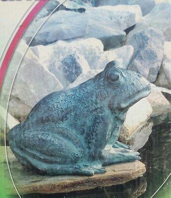 """Ubbink 1386048 Wasserspeier """"Frosh"""" Höhe 21 cm im Teichfigur"""