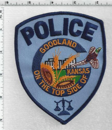 Goodland Police (Kansas) 2nd Issue Shoulder Patch