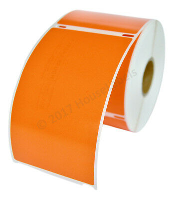 Dymo Lw 30256 Color Direct Thermal Orange Shipping Labels - 1 Roll Of 300