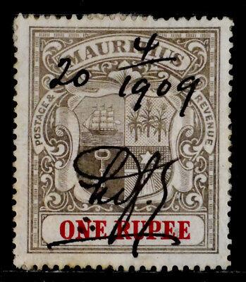 MAURITIUS, BRITISH: 1902 CLASSIC ERA STAMP SCOTT #124 CV$60 SOUND