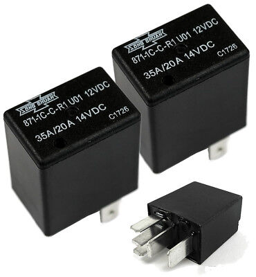 2x Song Chuan 12vdc Micro Spdt 2030a Relay Jeep Grand Cherokee Gmc Yukon Jimmy