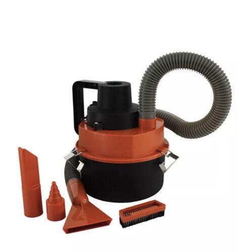 RED Handheld multifunction Vacuum Cleaner Car Boat RV Lighte