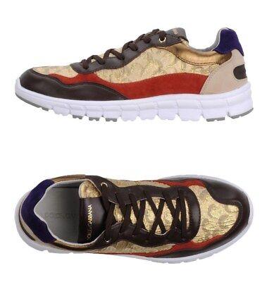DOLCE & GABBANA Women Multicolor Sneaker Size 39EU/8.5US NIB $650