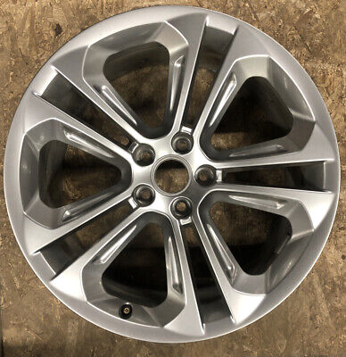 "Audi Q3 19"" OEM 8U0601025 2015 2016 2017 2018 Silver Used Wheel Rim 58954"