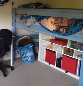 Bunkers corner Lo-line bunk and bed - light blue Ringwood Maroondah Area Preview