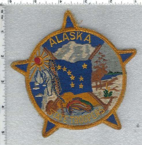 Alaska State Troopers Uniform Take-Off Shoulder Patch
