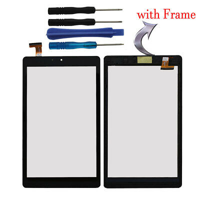 Touch Screen Digitizer Glass + Frame + Tools For Nextbook Ares 8A NX16A8116K