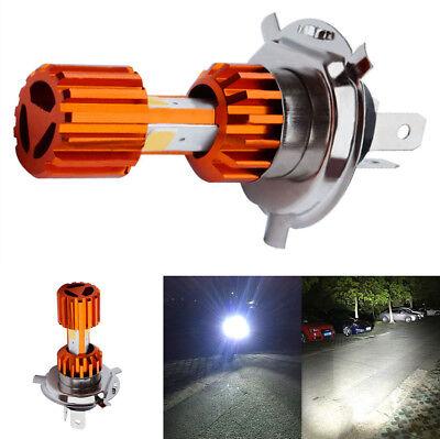 1x Motorrad H4 18W 2000LM Super hell COB LED Scheinwerfer Nebelleuchte Fahrlicht