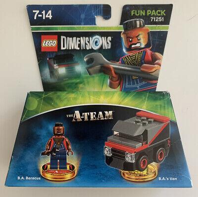 LEGO DIMENSIONS 71261 THE A-TEAM B.A. BARACUS FUN PACK BRAND NEW SEALED RARE