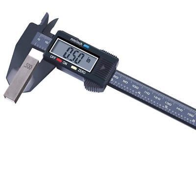 Caliper Digital Vernier Inch Metric Conversion Electronic Ruler Measuring Tool