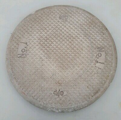 Vintage Opw Replacement Cast Aluminum Manhole Lid Cover 13 Outside Diameter