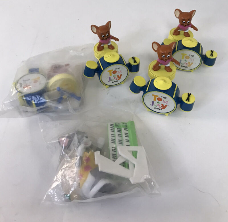 Vintage Tom And Jerry Mcdonals Toys