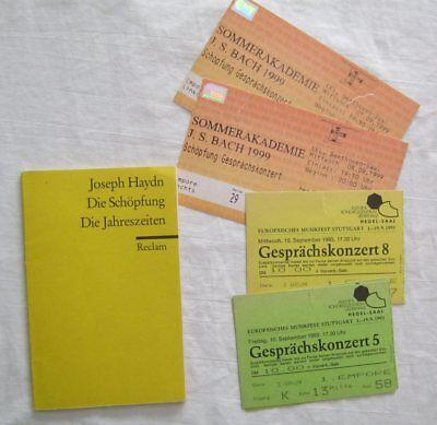 Die Schöpfung Die Jahreszeiten  Reclam (Libretto)  Joseph Haydn (In German)