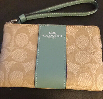 Coach New York Wristlet Purse/wallet, New without tags