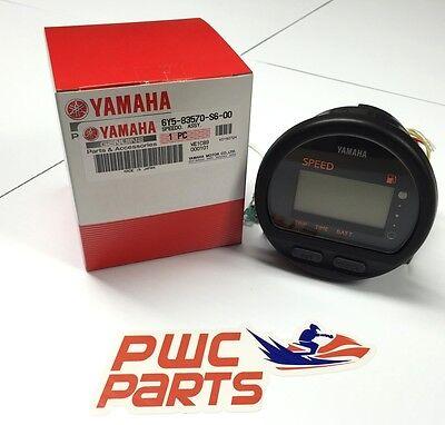 YAMAHA OEM Multi-Function Gauge Speedometer Outboards NEW 6Y5-83570-S6-00