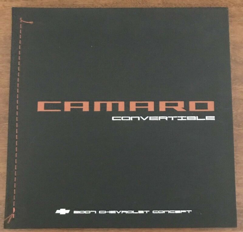 2007 Camaro Convertible - Chevrolet Concept Press Kit