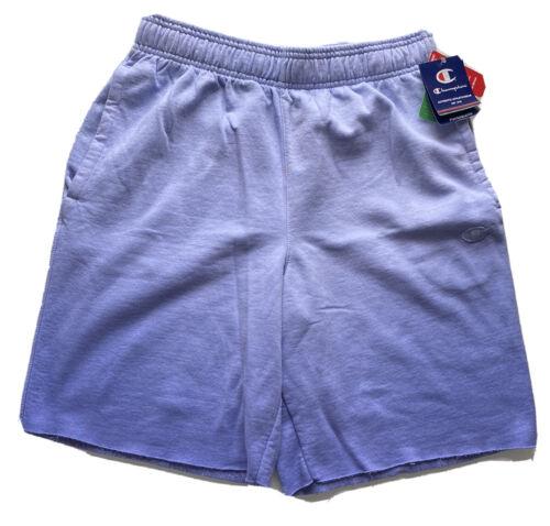 L Champion Ombré Fleece Workout Shorts Blue 15763  NWT