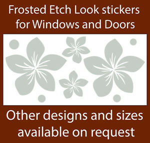 Safety stickers for glass windows