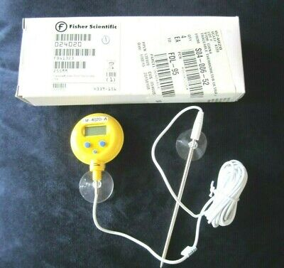 Fisher Scientific Traceable Waterproof Thermometer 4339 Fc Switchable