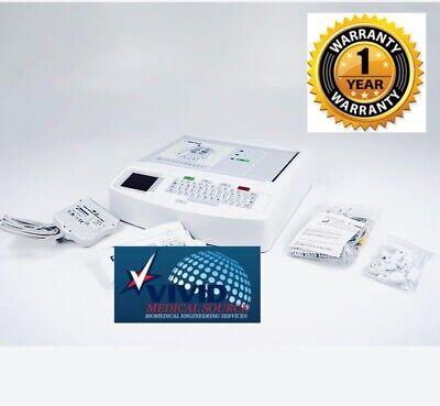 Mortara Eli 150c Interpretive Ecg Ekg Machine Complete Certified 1 Yr Warranty