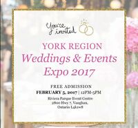 The one and the only YORK Region Weddings and Events expo