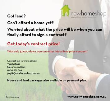 Got Land? Can't afford a home yet? looking for payment plan