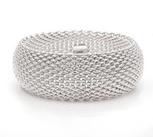 f63b60a5c Tiffany Somerset Mesh Bracelet