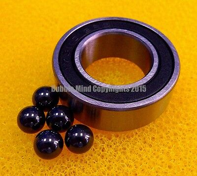 4 Pcs - 698-2rs 8x19x6 Mm Hybrid Ceramic Si3n4 Rubber Sealed Bearing Bearings