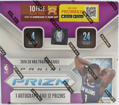 2019/20 PANINI PRIZM BASKETBALL 24-PACK BOX - ZION RC!