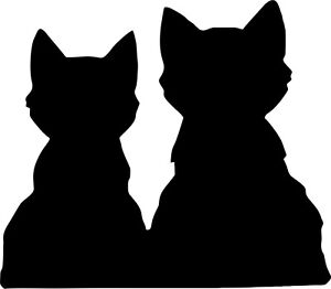 Cats-in-Love-White-or-Black-Vinyl-Car-Window-Sticker-Computer