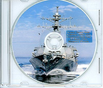 USS Carney DDG 64 Commissioning Program 1996 United States Navy Plank Owners