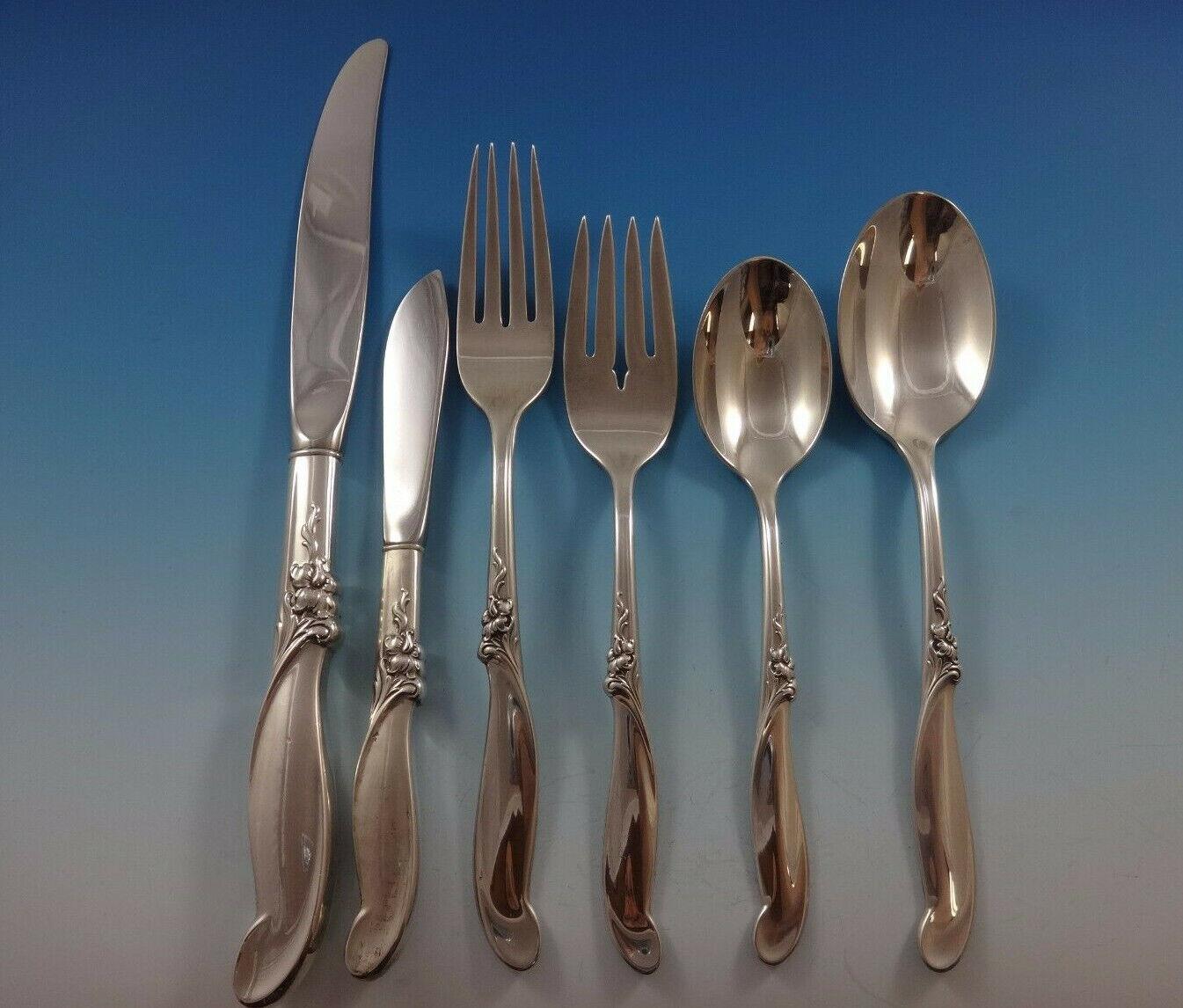 Silver Melody By International Sterling Silver Infant Feeding Spoon Custom
