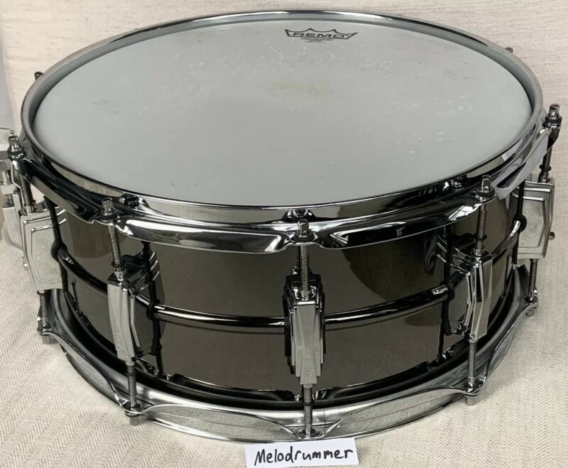 """Ludwig Black Beauty 6.5 X 14"""" 100 Year Anniversary Limited Snare Drum Rare"""