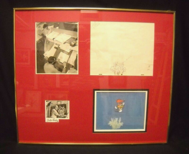 Walter Lantz archive, cels,drawing,still photos circa 1960