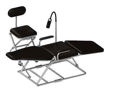 Missionary Dental Portable Chair Wcase Light Tray Cuspidor Stool