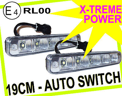 DRL High Power LED Lights Lighting Lamp Spare Part Replacement Citroen All