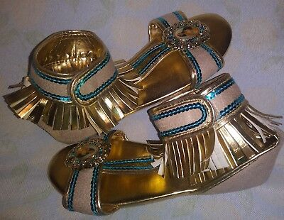 Disney Pochahontas Indian Princess Dressup Sandals Sz 2- 3](Pochahontas Costumes)