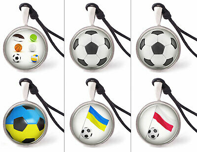 Soccer & Football Necklace Pendants Pewter Silver Jewelry JNP