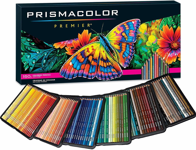 PRISMACOLOR PREMIER COLORED PENCILS, SOFT CORE, 150 PACK - $128.74