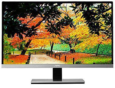 "AOC I2267FW 22"" IPS Slim LED Full HD 1920x1080 Monitor 5ms DVI-D VGA"