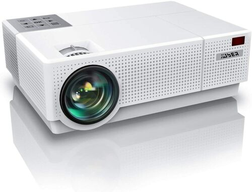 Yaber Y31 Projector Full HD 4K Video Home Theater Projector (White)